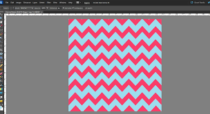 and ta da! you've got your new chevron pattern!