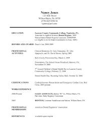 Dental Resumes Samples Dental Resume Samples Resume Cv Cover