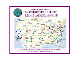 Base Structure Report Fiscal Year 2007 Baseline Department