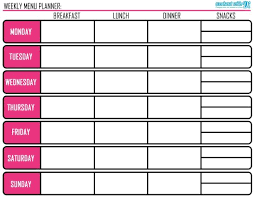 Menu Planning Meal Prep Tips Plus Free Printable Di Hickman E