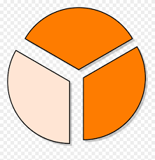 Transparent Pie Chart Collection Of Pie Chart Cliparts 1 3 Pie Chart Png