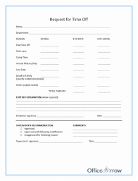 Paid Time Off Request Form Lobo Black