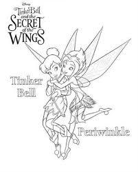Kids N Fun 15 Kleurplaten Van Tinkelbel Secret Of The Wings