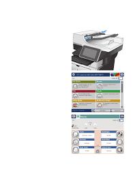 Birden çok sayfalı bir orijinali kopyalama | HP LaserJet Enterprise 500 MFP  M525