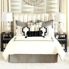 euro shams pillows on king bed white