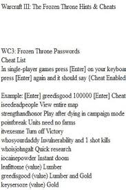 warcraft 3 cheats warcraft 3 cheats 1 0 android