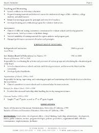 Resume Writing Examples Magnificent Resume Writing Formats Nhtheatreorg