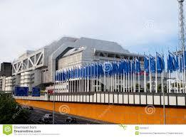 Il Centro Del Congresso Di Internationales A Berlino Fotografia Editoriale  - Immagine di vista, capitale: 24028237