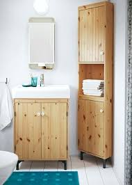 ikea small bathroom a small bathroom with a wash basin cabinet and a corner cabinet in