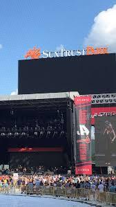Suntrust Park Seating Chart For Concerts Concert Photos At Suntrust Park