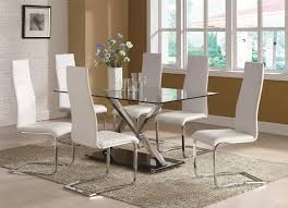 glass dining room set. Dining Room : Glass Table Macy\u0027s With Rectangular Square Throughout Modern Set White H