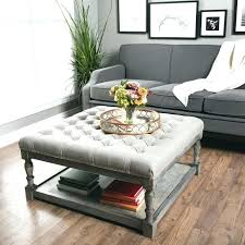 round tufted coffee table tufted coffee table ottomans coffee table faux leather ottoman coffee table upholstered