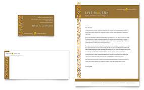 Letterhead Templates Design Furniture Store Business Card Letterhead Template Word Publisher