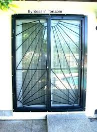 securing sliding door sliding glass door security sliding door security bar lovely sliding patio door security