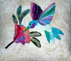 Hummingbird Quilt by Susan Lane. Design from Applique Takes Wing ... & Hummingbird Quilt by Susan Lane. Design from Applique Takes Wing by Jane  Townswick. Echo Adamdwight.com