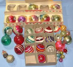 VINTAGE SHINY BRITE PRODUCT CHRISTMAS TREE ORNAMENTS VintageToys gh1fRhpB