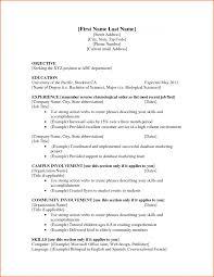 Basic Resume Examples For Jobs Job Skills Good Sample Of Resumes