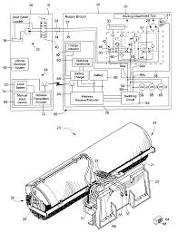 patent us6662881 work attachment for loader vehicle having patent drawing