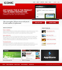 Iconic Website Design Iconic A Bold New Professional Web Layout