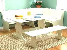 White Dining Sets With Bench White Table With Bench Bench Table And