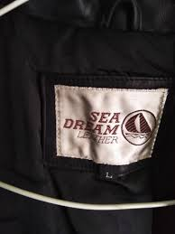 jaket kulit asli sea dream leather size l men s fashion men s clothes outerwear on carou