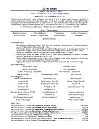 Surgeon Resume Samples Meloyogawithjoco Unique Sample Resume For Orthopedic Surgeon