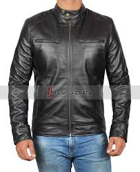 motocycle mens leather jacket