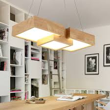 restaurant kitchen lighting. Modern Wooden LED Pendant Light Fixtures For Restaurant Kitchen Creative Office Lamp Wood Lighting