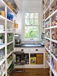 small pantry shelving decor