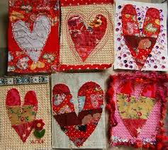 36 best Postcard quilts images on Pinterest | Postcards ... & valentine postcard quilts | Tutorial: Make Valentine Postcards by iHanna.  Shows how to make Adamdwight.com