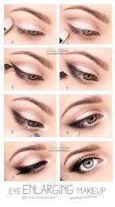 eye enlarging makeup tutorial also i read somewhere that priming with a white thick liner can make that metallic color stay longer without fading