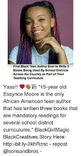 For black teens across