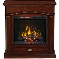 style selections 36 5 in w 5 200 btu warm cherry wood veneer infrared quartz electric