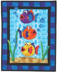 87 best Animal Quilts images on Pinterest | Blankets, Patchwork ... & Free Fish Quilt Patterns | Quilt Pattern Workshops | Quilting Workshops |  Quilt Workshops Adamdwight.com