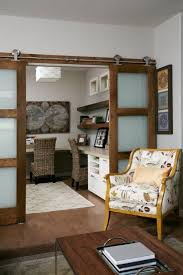 calgary glass barn doors with transitional dining room chairs home office modern and