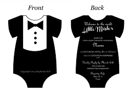 baby onesie template for baby shower invitations baby shower invitations template resume builder black and white