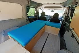 step 2 select the options for your ram promaster city camper van conversion kit