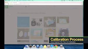 Cricut Design Studio Update Firmware Cricut Explore Print Then Cut Firmware Plug In Update Calibration