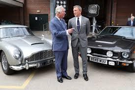 Prince Of Wales Visits Bond 25 Set At Pinewood Studios Bond Lifestyle