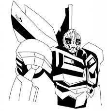 Small Picture Bumblebee Transformer Car Coloring Pages Transformers Coloring for