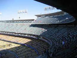 Dodger Stadium Seating Chart Infield Reserve Dodger Stadium Reserve Level Infield Baseball Seating