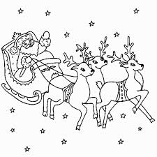 Small Picture Christmas Santas Sleigh Coloring Page Coloring Coloring Pages