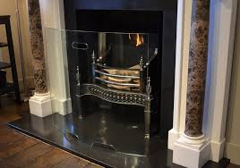 glass fire screen. Exellent Fire Curved Glass Fire Screen In Chesneys