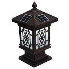 Solar Post Cap Lights Amazon Com Goodvon Solar Post Cap Light Solar Fence Post