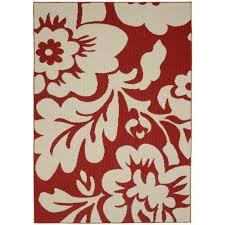 garland rug fl garden santa fe c ivory 5 ft x 7 ft area rug ll450a060084l7 the home depot