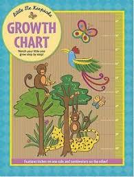 Chart Jungle Details About Nursery Growth Chart Jungle Animals Little Me Keepsake By Rachel Hatchard