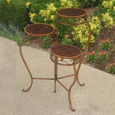 ... Fabulous 3 Tier Plant Stands For Your Outdoor And Indoor Garden : Fancy  Caravan Fold Out ...