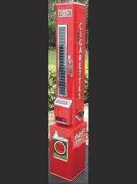Vintage U Select It Vending Machines New USelect Cigarette Machine Circa 48s VENDING MACHINES Pinterest