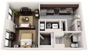 Awesome D Apartment Floor Plans Pictures Amazing Design Ideas - Studio apartment floor plans 3d