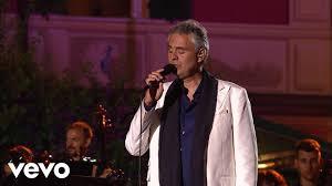 Andrea Bocelli Love In Portofino Live 2012 YouTube